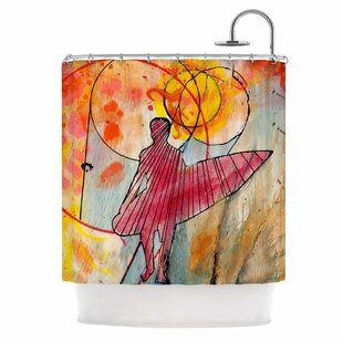 'Untold Beauty' Single Shower Curtain