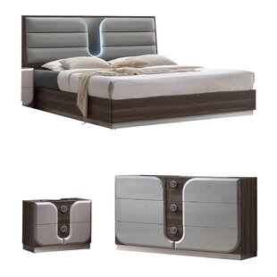 Anshul Platform Configurable Bedroom Set