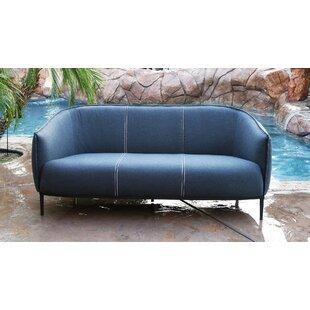 Emory Outdoor Patio Sofa with Sunbrella Cushions by Brayden Studio