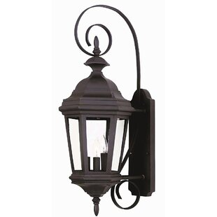 Price Check Estate 3-Light Outdoor Wall Lantern By Wildon Home ®