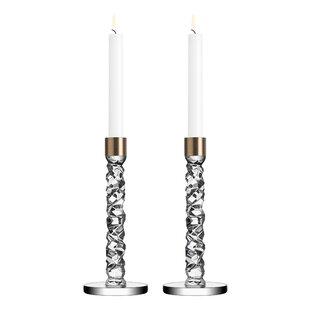 Carat Crystal Candlestick (Set of 2)