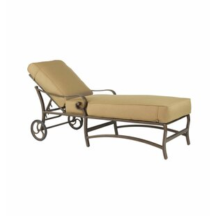 Leona Veracruz Chaise Lounge with Cushion