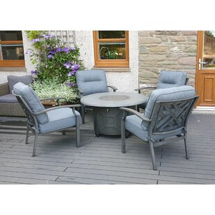 Obadiah 4 Seater Conversation Set By Sol 72 Outdoor