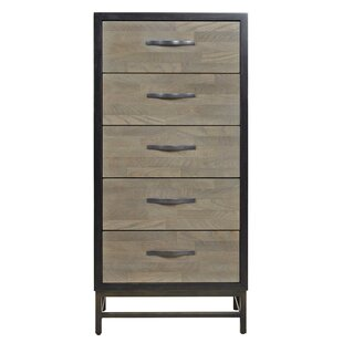 Union Rustic Pearson 5 Drawer Lingerie Chest