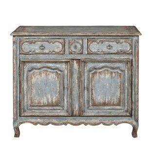 Heines Farmhouse 2 Door Accent Cabinet