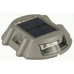 Living Accents Solar Powered 1 Deck Light LED Rail Light