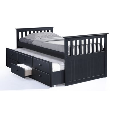 Broyhill® Marco Island Captain's Bed with Trundle Bed and Drawers