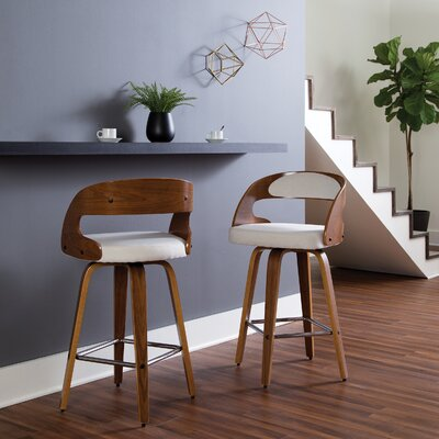 Swivel Counter Height Bar Stools You Ll Love In 2020 Wayfair