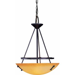 Volume Lighting Lodge 3-Light Bowl Pendant