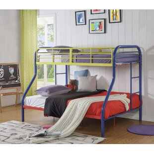 Affordable Price Hallum Twin Over Full Bunk Bed ByZoomie Kids