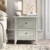 Jarman 2 Drawer Nightstand by Kelly Clarkson Home