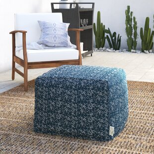 Glassell Large Ottoman by Wrought Studio