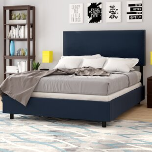 Duque Upholstered Panel Bed by Brayden Studio