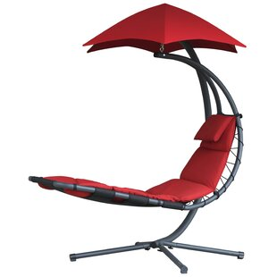 Ebern Designs Maglione Hanging Chaise Lounger