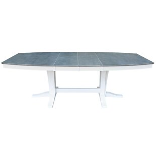 68 - 96 x 42 Double Butterfly Extension Dining Table