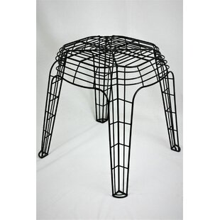 Rojas Metal Wire Accent Stool by Williston Forge