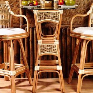 Pub Table Set By Spice Islands Wicker
