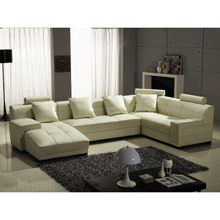 Beideman Leather Sectional