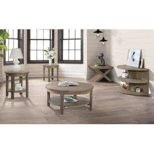 Gracie Oaks Scoggins 4 Piece Coffee Table Set