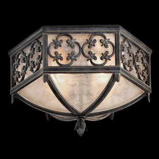 Fine Art Lamps Costa Del Sol 2-Light Flush Mount