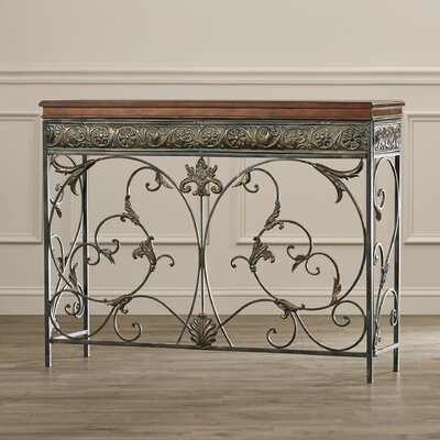 Astin Console Table Fleur De Lis Living
