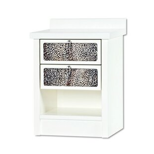 Up To 70% Off Bass 2 Drawer Nightstand