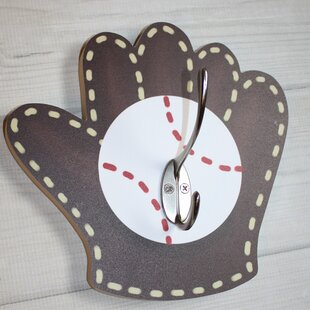 Baseball Mitt Kids Wall Hook