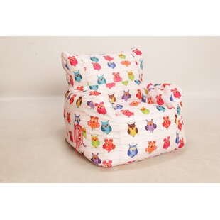 Owls Bean Bag Chair by Zoomie Kids