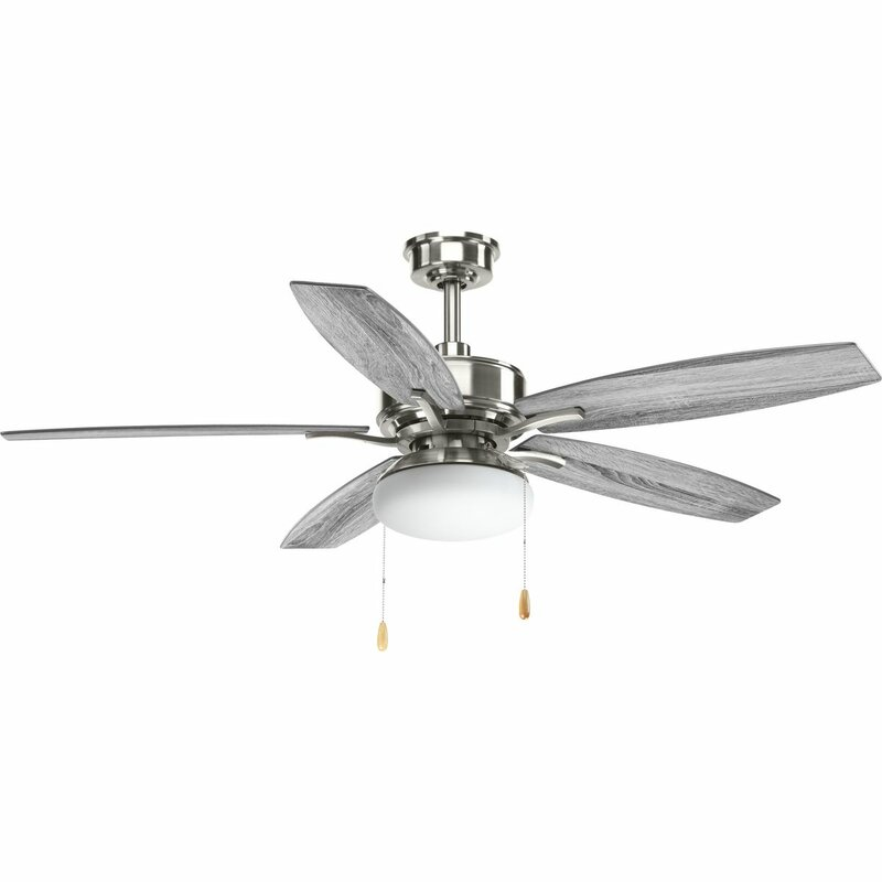 Red barrel studio 52 segars 5 blade led ceiling fan with pull chain 52 segars 5 blade led ceiling fan with pull chain aloadofball Image collections