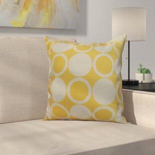 Memmott Small Mod-circles Throw Pillow