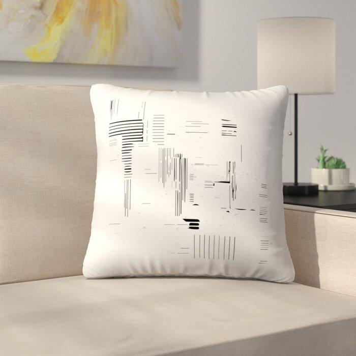 Modern Minimalist Throw Pillow
