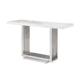 Leiston Console Table by Everly Quinn