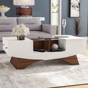 Madilynn Coffee Table with Storage by Wade Logan