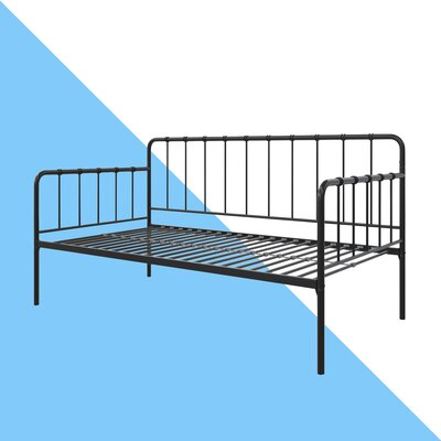 Mystic Daybed with Trundle Hashtag Home Size: Twin, Color: Black