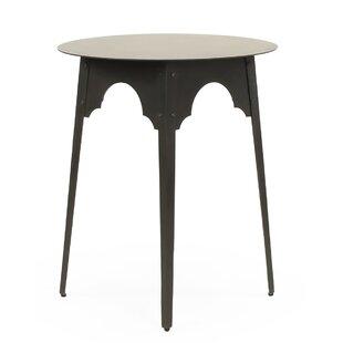 Gaylon Metal Small End Table by Bloomsbur..