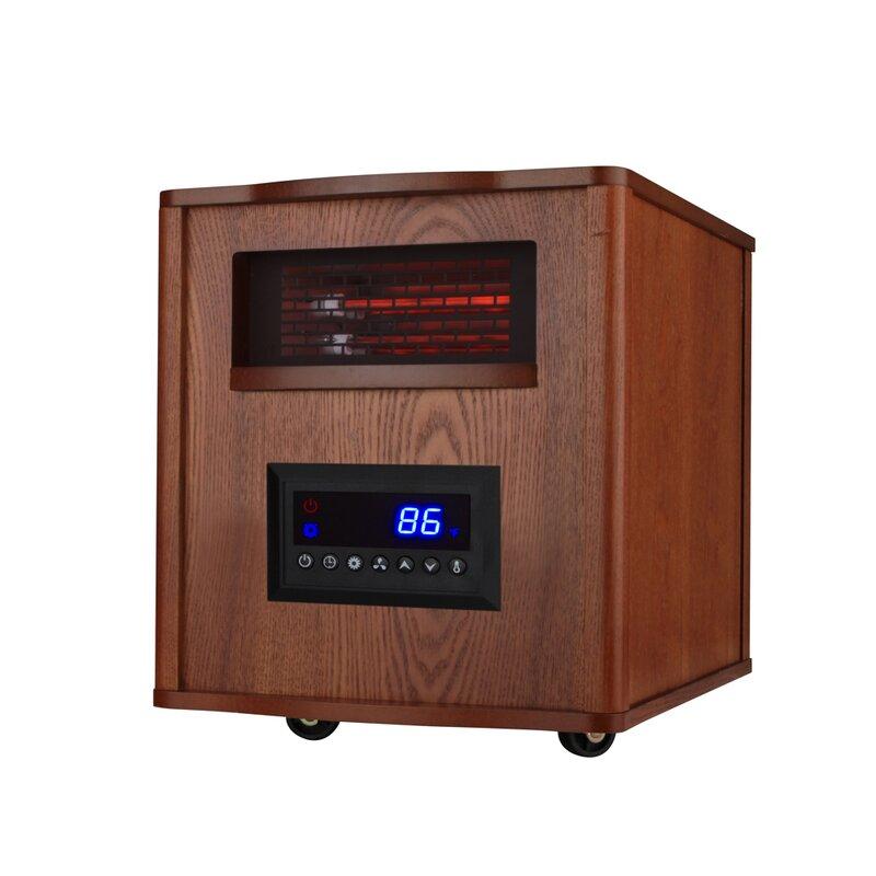 Konwin 1 500 Watt Electric Infrared Cabinet Heater Wayfair