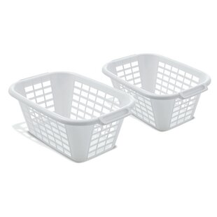 Laundry Basket (Set Of 2) By Wayfair Basics