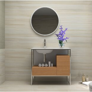 Wilford 26 Single Bathroom Vanity Set with Mirror by Brayden Studio