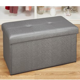 Clearance Hobert Double Storage Ottoman By Winston Porter