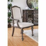 Syrna Wooden Upholstered Dining Chair (Set of 2) by One Allium Way®