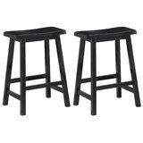 Hage Bar & Counter Stool (Set of 2) by Breakwater Bay
