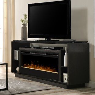 David TV Stand for TVs up to 70 with Fireplace