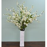 Faux Cherry Blossom Stem (Set of 6) by Alcott Hill®