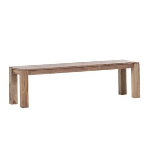 Blaise Wood Bench By Union Rustic