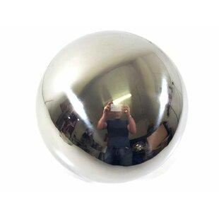 Martin Stainless Steel Gazing Globe By Happy Larry