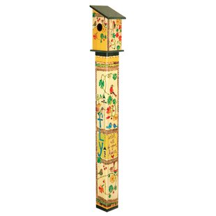 Studio M Fly with All Your Heart 60 in x 6 in x 6 in Pole Birdhouse