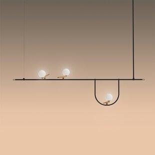 Artemide Yanzi Suspension 3-Light LED Pendant