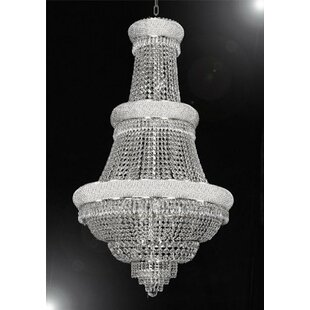 Loiselle 21-Lights LED Chandelier by Astoria Grand
