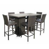 Tegan 8 Piece Bar Height Dining Set