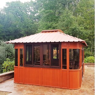 Westview Manufacturing Aspen Ultrawood 11.5 Ft. W x 17 Ft. D Solid Wood Patio Gazebo